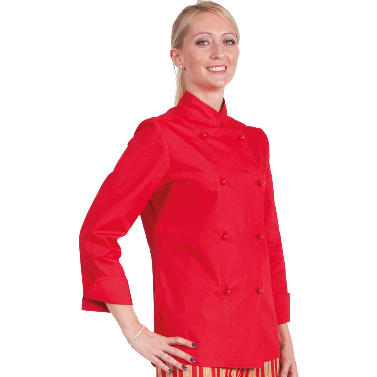 evolution-giacca-cuoco-donna-rosso