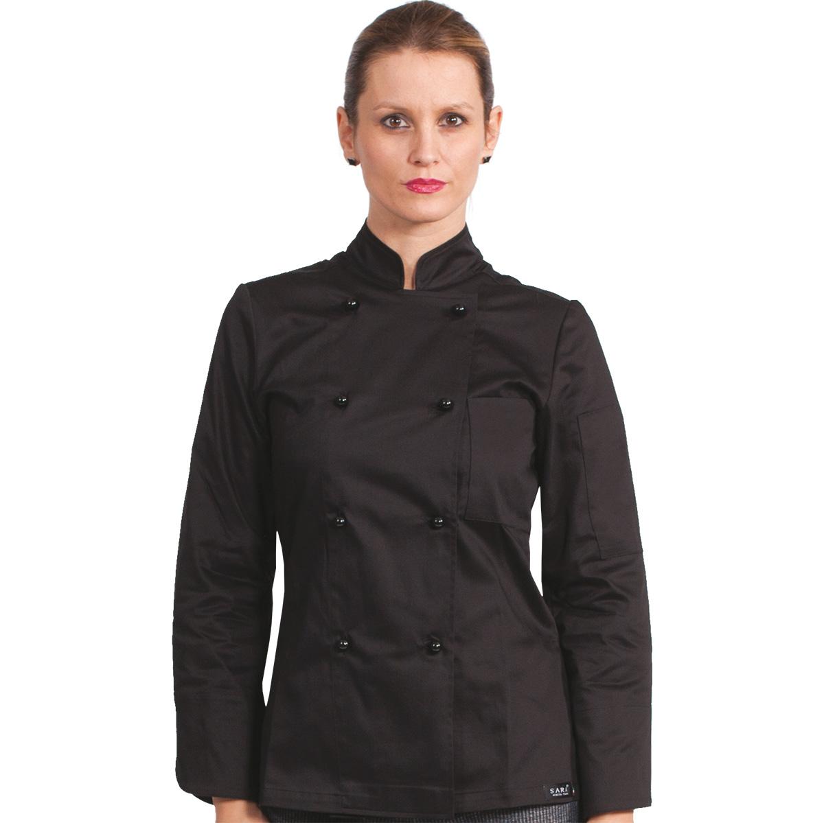 evolution-giacca-cuoco-nera-elasticizzata