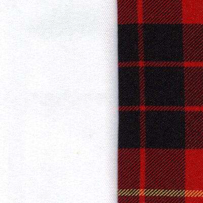 bianco/scozzese rosso