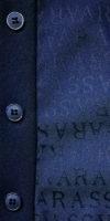 monogrammato blu