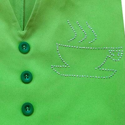 verde acido strass