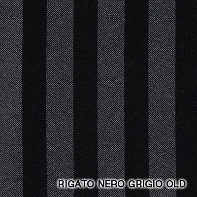 rigato nero grigio