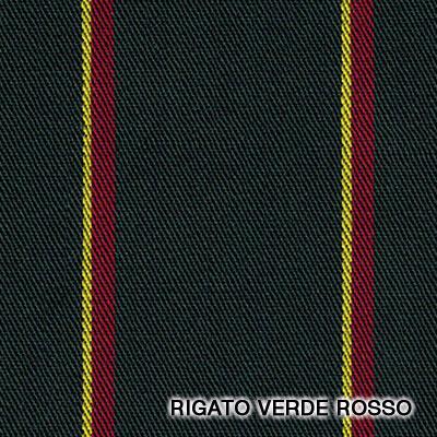 rigato verde rosso giallo