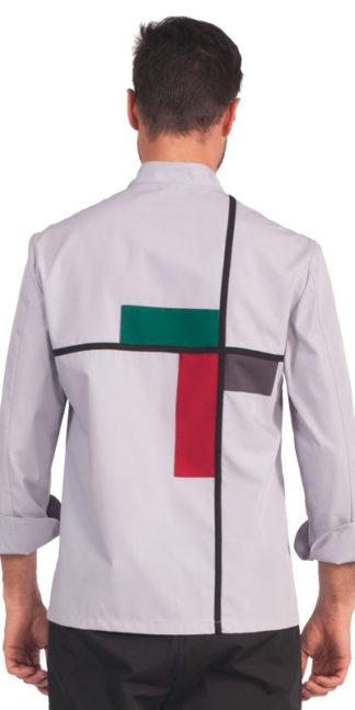 mondrian giacca chef