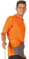 arancio/grigio piombo