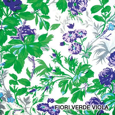 fiori verde viola