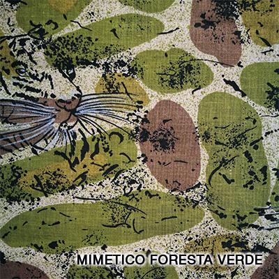 mimetico foresta verde