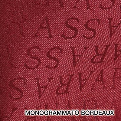 monogrammato bordeaux