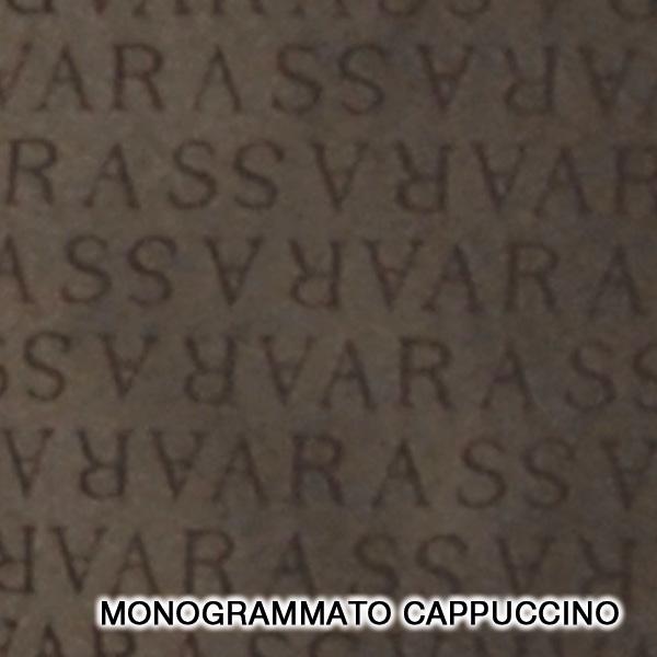 monogrammato cappuccino