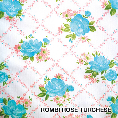 rombi rose turchese